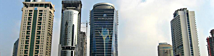 Infoquest office Building in Dubai